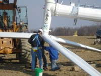 Eagle Creek Growers Continues Green Effort With Turbine