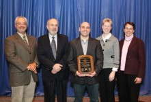 McGuiness Receives Todd Bachman Award