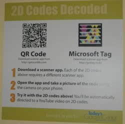 QR Codes Are Everywhere At Short Course