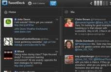 Sending a message in TweetDeck