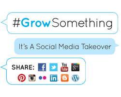 #GrowSomething grow something