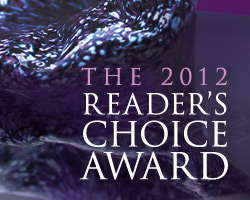 Medal of Excellence Reader's Choice Award