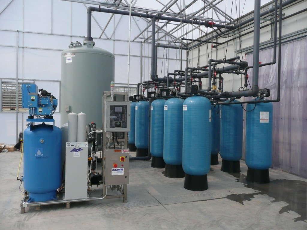 Recycling Rainwater Greenhouse Grower
