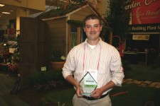 Sheridan Nurseries' John McLaren and his award for being a finalist for Head Grower of the Year