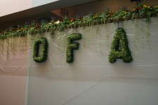 OFA topiary sign