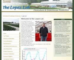 Purdue's Lopez Lab website