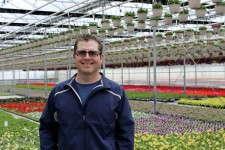 Rob O'Hara of Rainbow Greenhouses