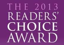 Readers' Choice Award 2013