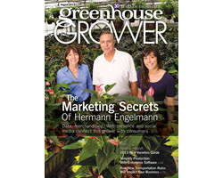 Greenhouse Grower August 2013 cover Hermann Engelmann