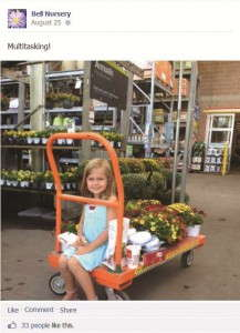 Bell Nursery captures what's going on at The Home Depot to make consumers want to buy plants there.