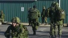 Canadian Army Reserve training at GGS Structures.