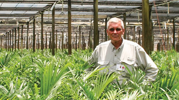 Bill Lewis grower manager at Delray Plants